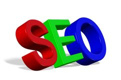 Seo 3D Stock Photo