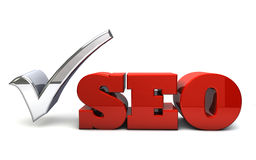 Seo illustration libre de droits