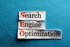 Seo abbreviation Royalty Free Stock Image