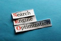 Seo abbreviation Stock Image