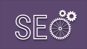 SEO abstract icon Stock Image