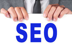 SEO, acronym for Search Engine Optimization Royalty Free Stock Image