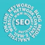 Seo-all-keywords Royalty Free Stock Photography