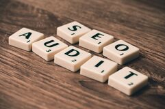 Seo Audit Marketing Royalty Free Stock Images