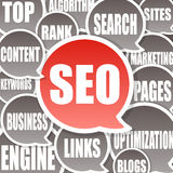 SEO Background - Search engine optimization Stock Photos