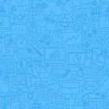 SEO Blue Line Seamless Pattern Image libre de droits