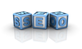 Seo Buzzword Stock Photo