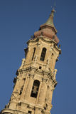 Seo Cathedral Church Tower, Saragossa Royalty Free Stock Photo