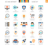SEO Colorful Icon Set 02 Royalty Free Stock Images