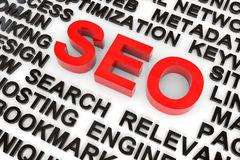 SEO concept. Royalty Free Stock Photo