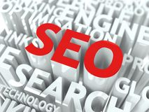 Seo Concept. Stock Images