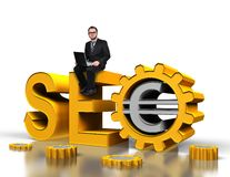 Seo concept Stock Photos