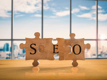 Seo concept Stock Photography