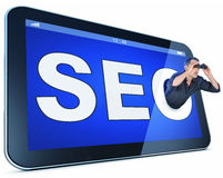 SEO concept Royalty Free Stock Photos