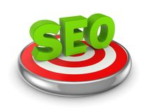 SEO concept. Royalty Free Stock Photography