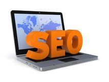 SEO concept. Royalty Free Stock Images