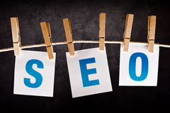 SEO concept, search engine optimization Royalty Free Stock Photos