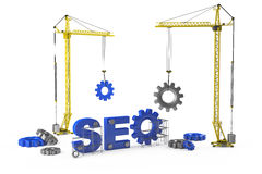 SEO concept royalty free illustration