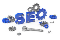 SEO concept Royalty Free Stock Photography