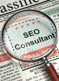 SEO Consultant Join Our Team. 3D. Stock Images
