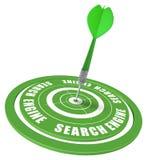 SEO - de optimalisering van de onderzoeksmotor Stock Afbeelding