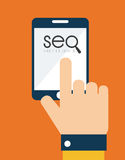 SEO design Stock Image