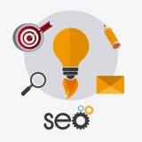 SEO design. Royalty Free Stock Photos