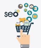 SEO design. Stock Photos