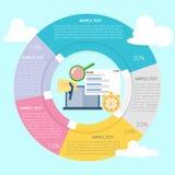 Seo Development Infographic Image libre de droits