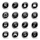 SEO and development simply icons Stock Images