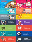 Seo digital del planeamiento del srartup del márketing de la gestión Fotos de archivo