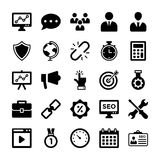 Seo and Digital Marketing Glyph Vector Icons 7. Here is new and trendy Seo and Digital Marketing Glyph Vector Icons set that is just perfect for use in website Royalty Free Stock Images