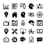 Seo and Digital Marketing Glyph Vector Icons 13. Here is new and trendy Seo and Digital Marketing Glyph Vector Icons set that is just perfect for use in website Stock Image