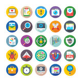 Seo and Digital Marketing Vector Icons 7 Stock Images