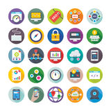 Seo and Digital Marketing Vector Icons 3 Stock Images