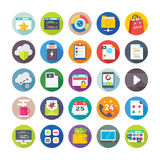 Seo and Digital Marketing Vector Icons 5 Stock Photos