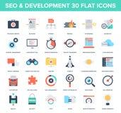 SEO e desenvolvimento Foto de Stock