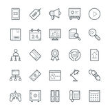SEO e Internet che commercializzano le icone fresche 4 di vettore Immagini Stock Libere da Diritti