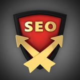 SEO emblem Royalty Free Stock Photos