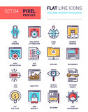 SEO et optimisation de Web Image libre de droits