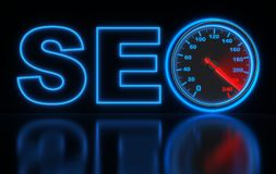 Seo high speed Royalty Free Stock Photos