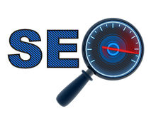 Seo high speed Stock Image
