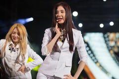 Seo Hyun (SNSD-musikband) på den EquilibriumConcert Korea för mänsklig kultur festivalen i Vietnam Royaltyfria Foton