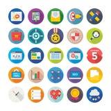 Seo i Cyfrowego Marketingowe Wektorowe ikony 10 ilustracja wektor