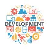 Seo i rozwój ikony set Zdjęcie Royalty Free