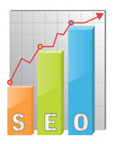 SEO icon Royalty Free Stock Images