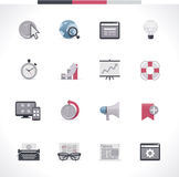SEO icon set. Part 2 Stock Images