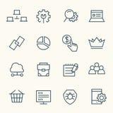 SEO icon set Royalty Free Stock Photography