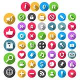 SEO Icon uppsättning Royaltyfria Bilder
