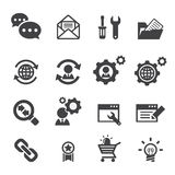 Seo icon Stock Images